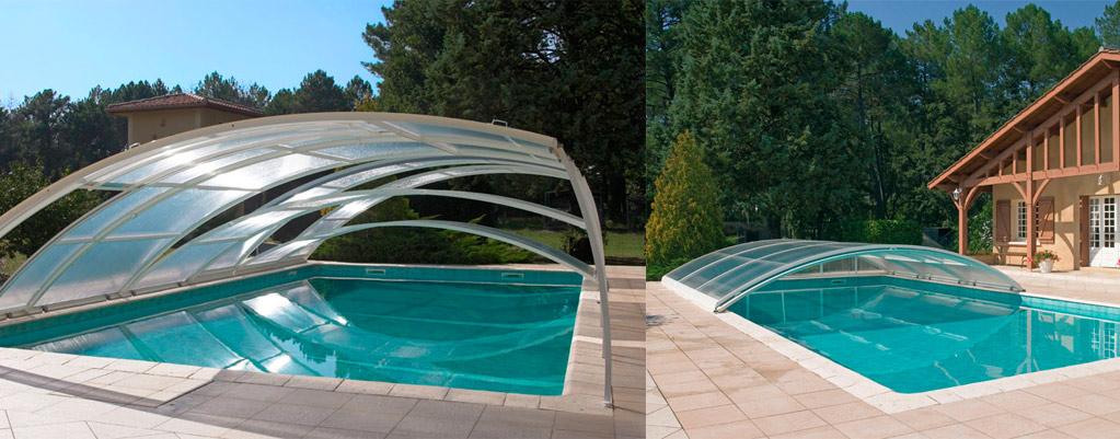 Cubiertas para piscinas aislamientos y piscinas en for Cubiertas para albercas