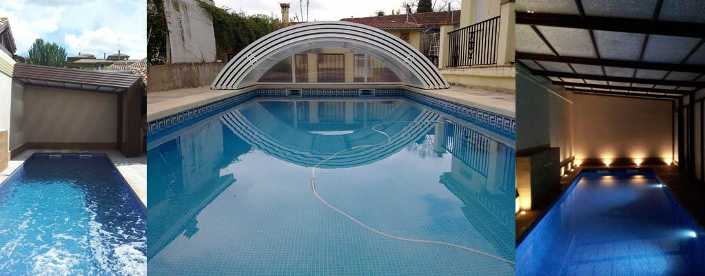 Cubiertas para piscinas aislamientos y piscinas en segovia aislamax - Piscina climatizada segovia ...