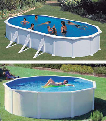 Piscinas desmontables de acero aislamientos y piscinas for Piscinas desmontables de pvc