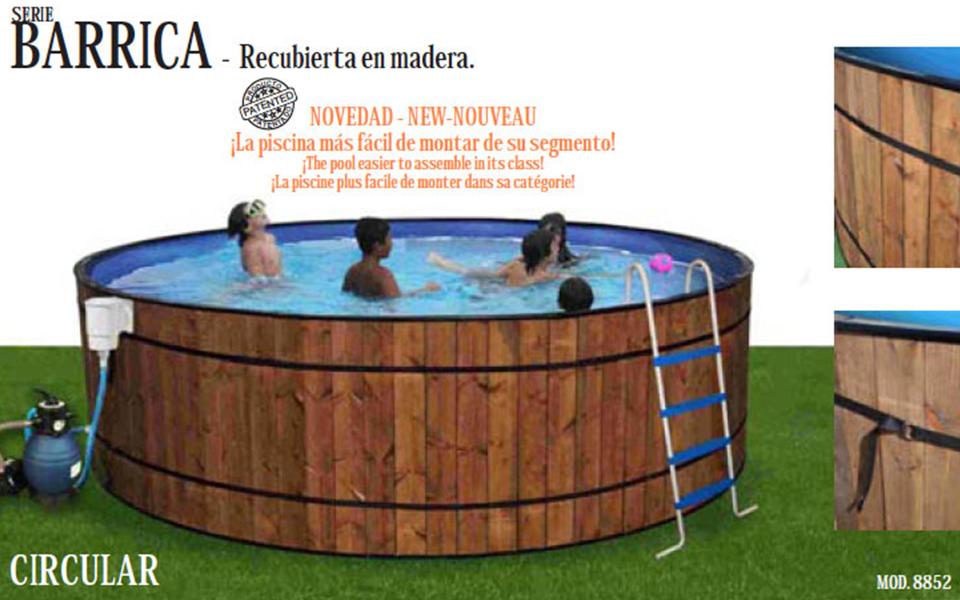 Piscina fibra elevada best ideas sobre piscinas elevadas for Piletas enterradas precios